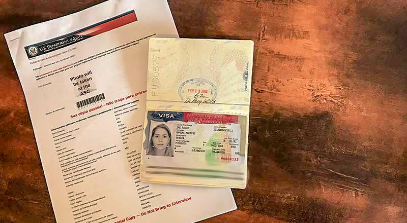 Como preencher o formulário DS-160 – visto americano turista